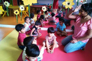 White Canvas Preschool Classes